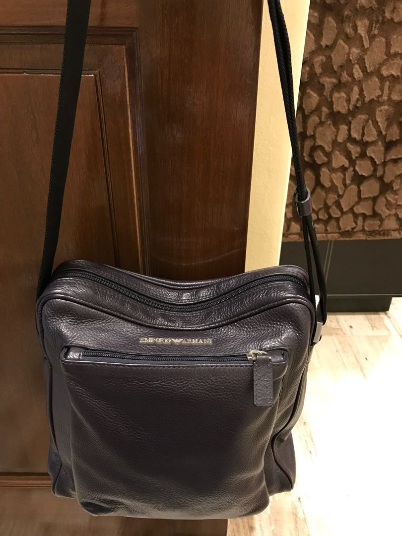 Authentic Emporio Armani sling bag for Men (as good as brand new ... afa3ea174390f