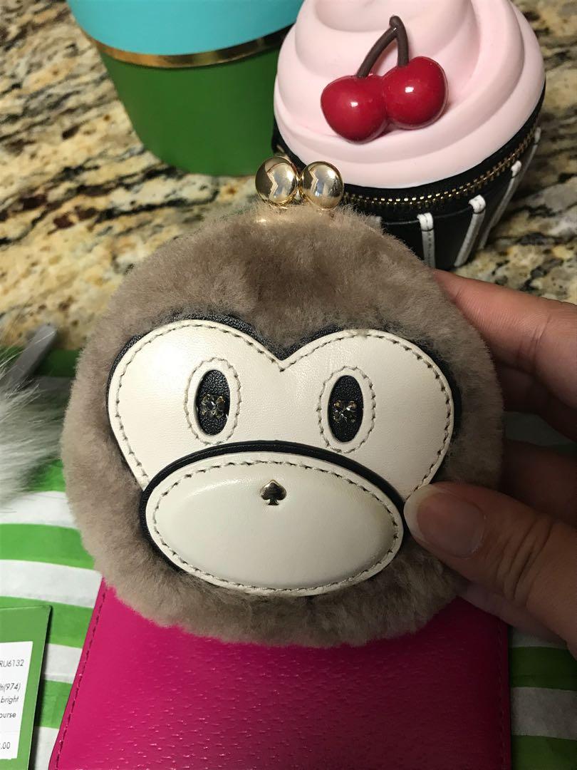 BNWT Kate Spade Monkey Coin Purse