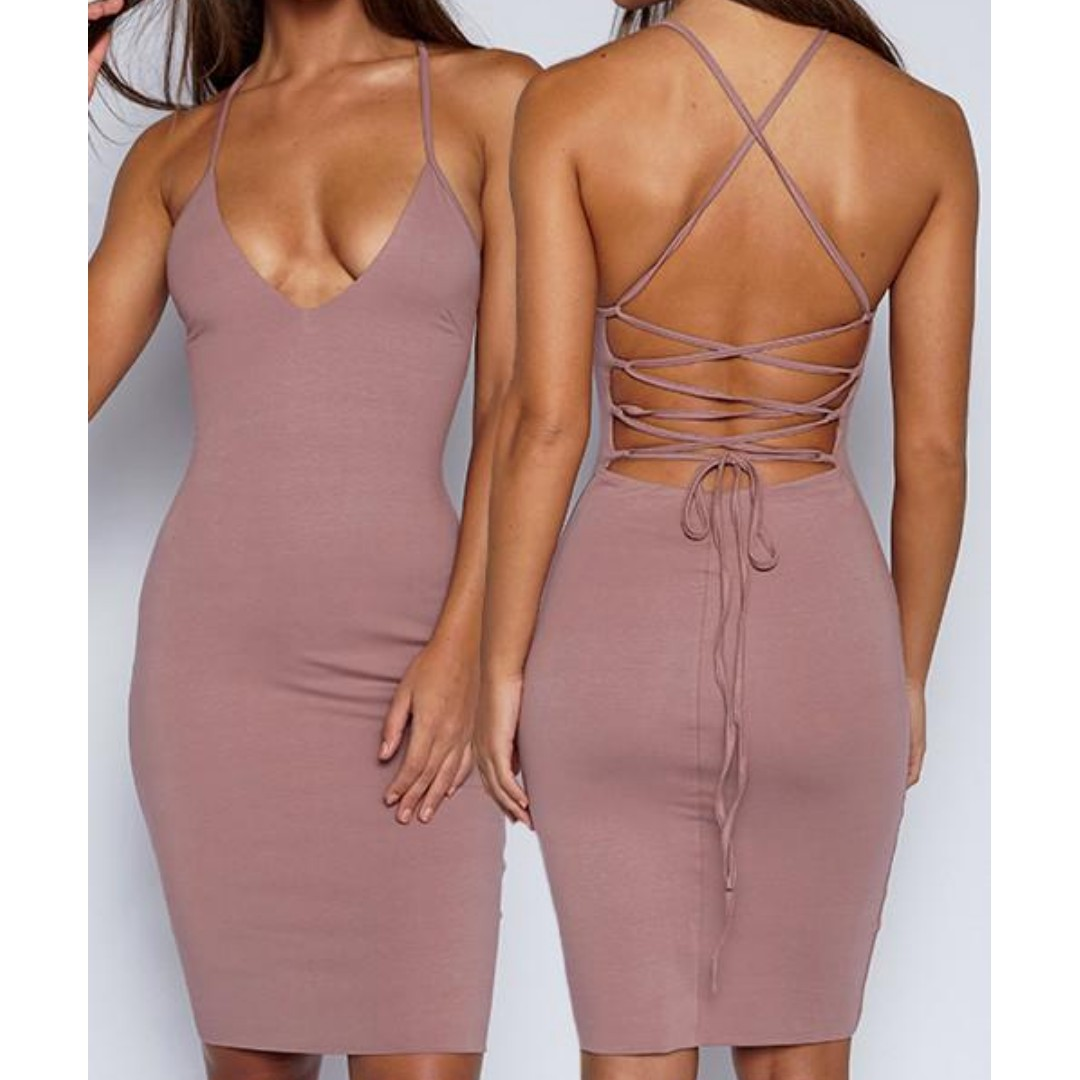 Bodycon Strap Dress