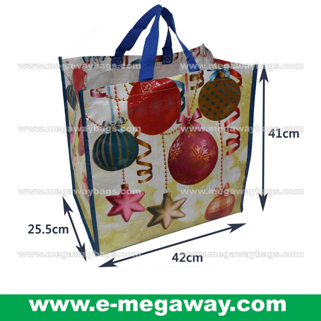 #Christmas #Eve #Stars #Balls #Eco #Recyle #Recylced #Store #Buy-away #Takeaway #Grocery #Bag #Durable #Woven #PP #Eco-friendly #Advertising #Promotion #Media #Giftbag #Packaging #Carry #Tote #Celebration @MegawayBags #Megaway #MegawayBags #CC-1548
