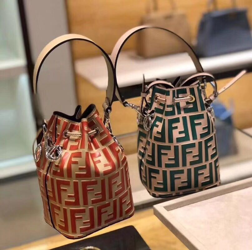 6976eb98c287 Fendi mini bucket bags