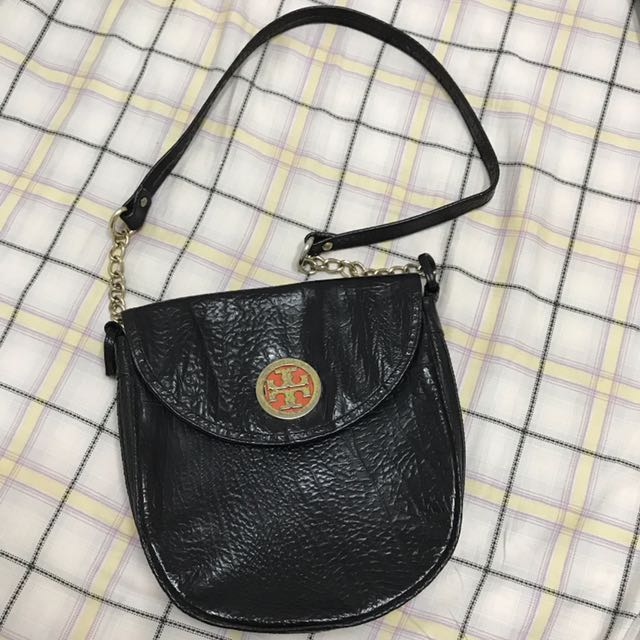 (FREE ONGKIR) Sling-Chain Black Bag
