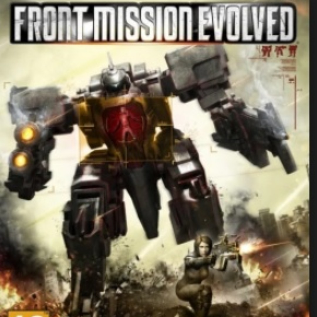 Front Mission Evolved PS3 (Playstation3) Games