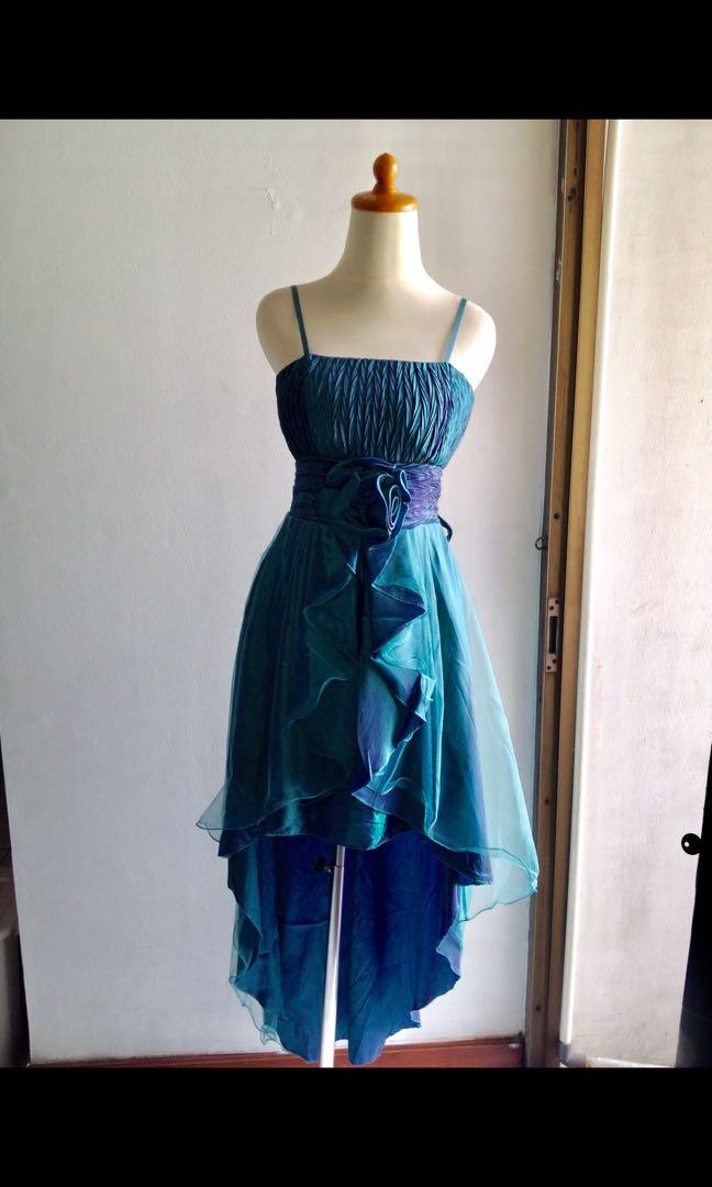 Gaun Depan Pendek Belakang Panjang Gaun Murah Gaun Pesta Baju