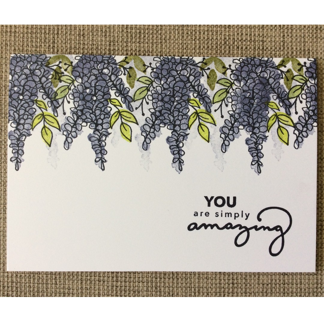 Handmade Mother's Day Card - You are simply amazing