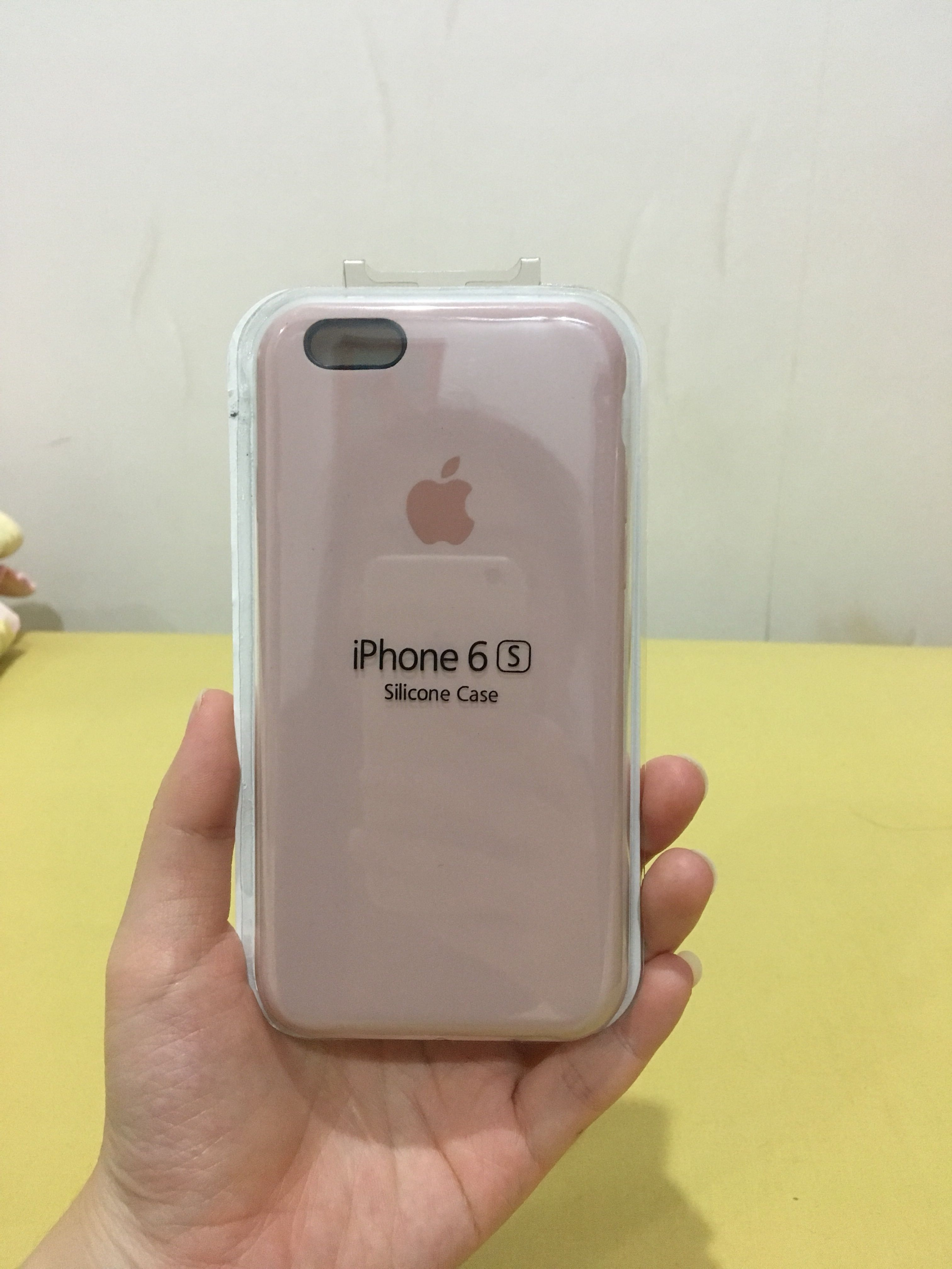 hot sale online aa2b6 f9753 Iphone 6/6s Case with Apple Logo - Pink Sand, Mobile Phones ...