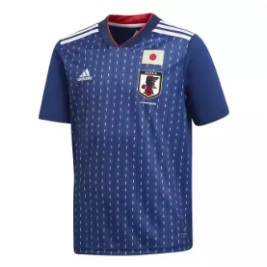 3cccbba1c Japan 2018 World Cup Home Kit, Sports, Sports Apparel on Carousell