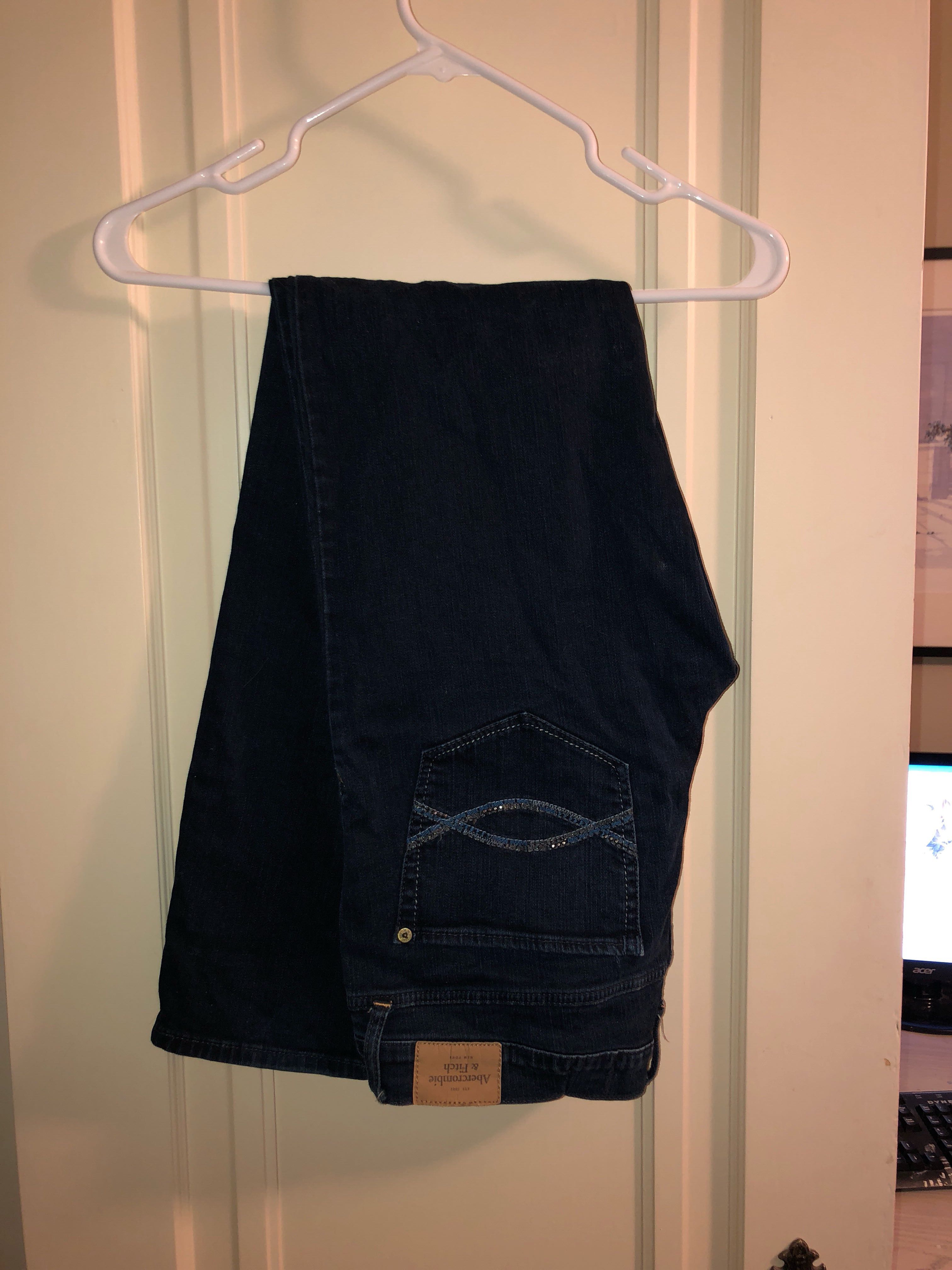 Jeans dark wash from Abercrombie & Fitch