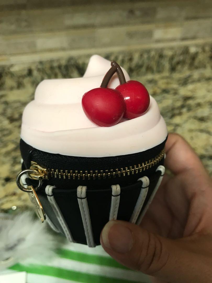 Kate Spade Magnolia Cupcake Coin Purse