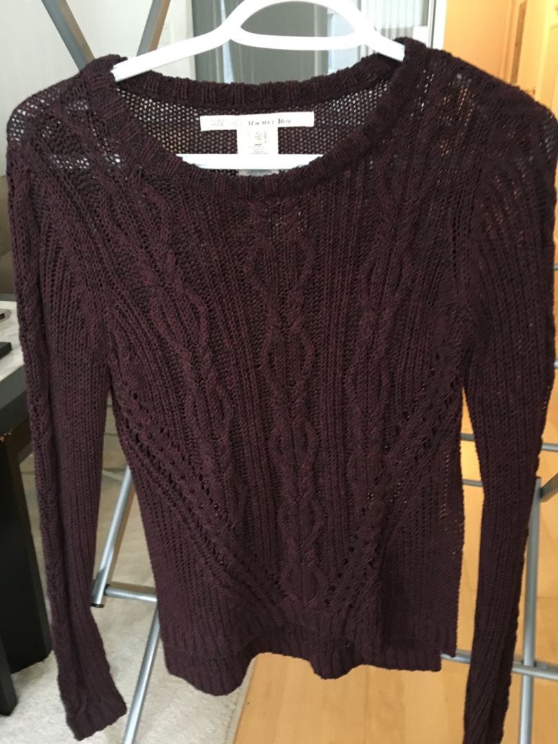 Knit Sweater with side slit