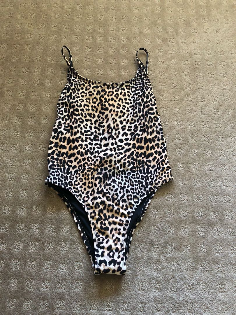 Leopardprint one piece