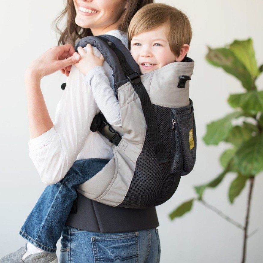 fbcfcfb2143 Lillebaby Baby Carrier Carry On toddler carrier in Charcoal Silver ...