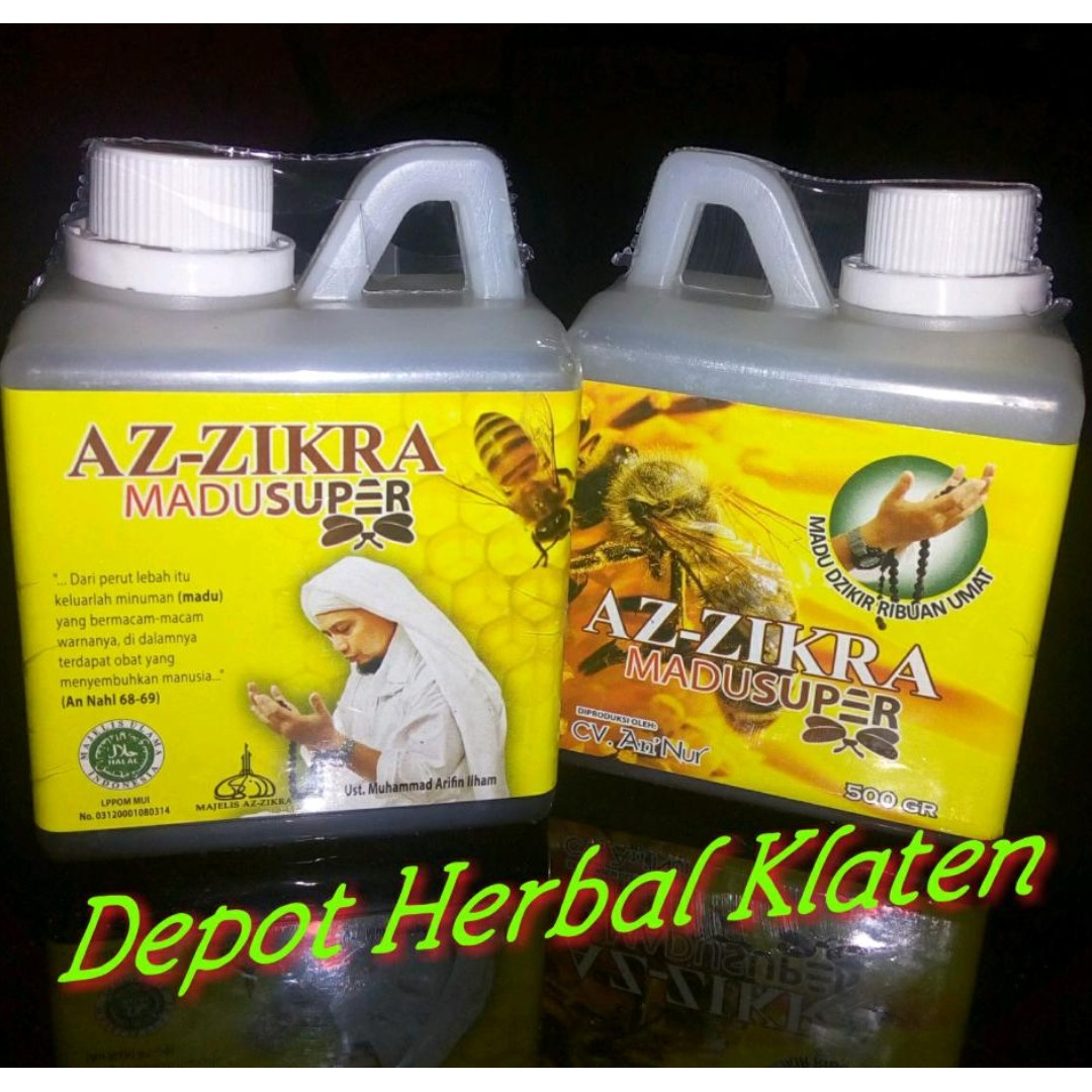 Madu Super Az-Zikra Madu Dzikir Ribuan Umat, Food & Drinks, Non-Alcoholic Beverages on Carousell