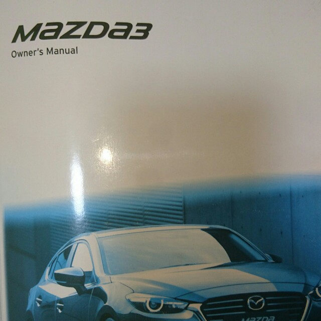 mazda 3 instruction manual