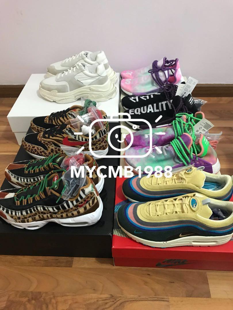 Nike Air Max Atmos Adidas NMD