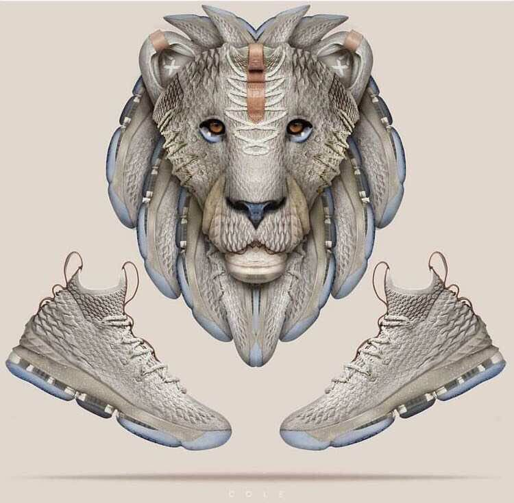 0a7d6e896ba Nike LeBron 15  Ghost