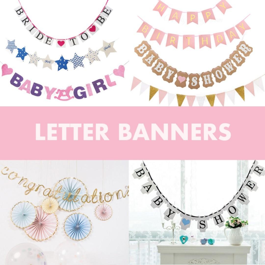 Party Banner / Wedding / Happy Birthday