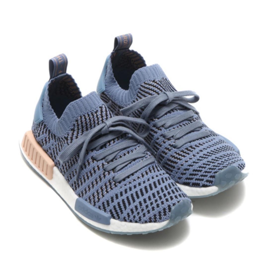 404eb02567b23 PO) Adidas Womens NMD R1 PK STLT Blue