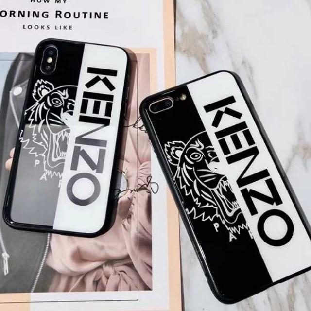 52ea8d310e PO] Kenzo Tempered Glass IPhone 6/7/8/X Full Cover Case, Mobile ...