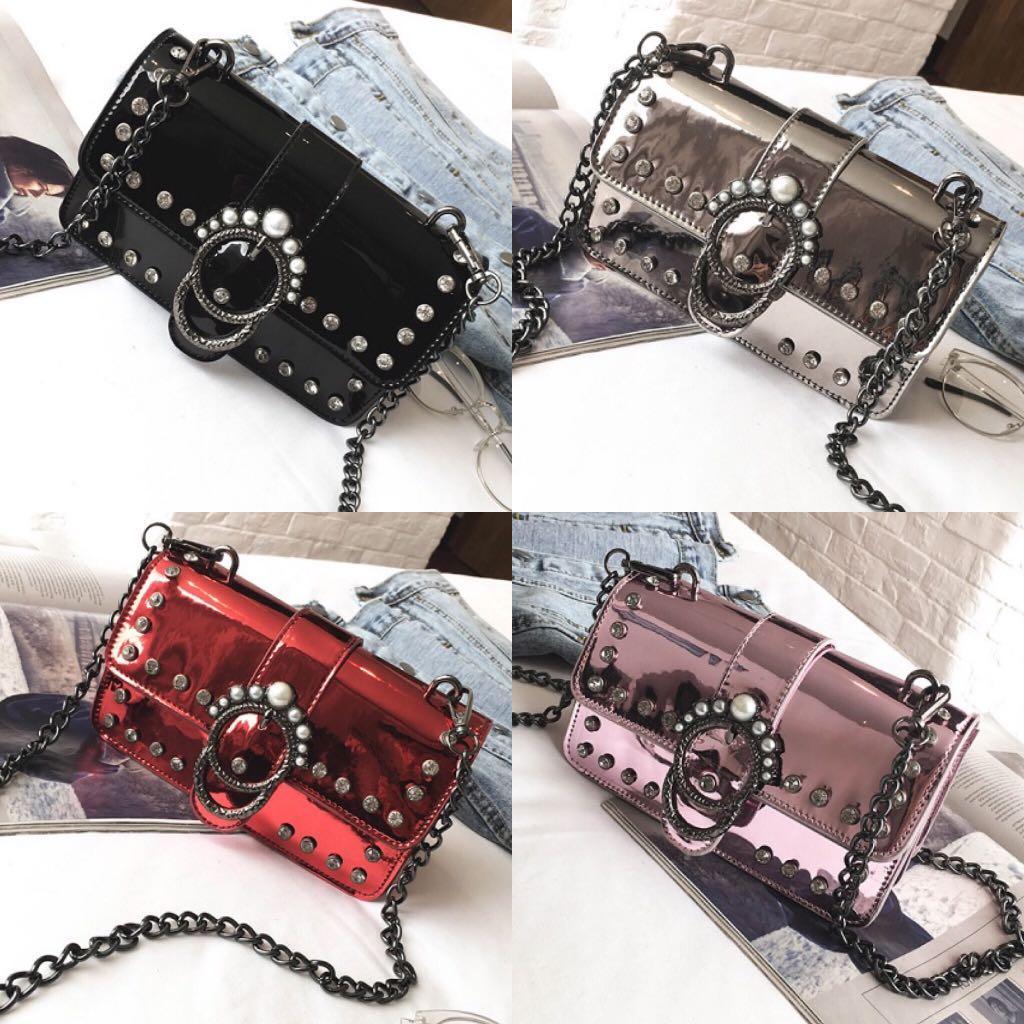 Tas Selempang Sling Bag Fashion Wanita Cewek Impor Import Code 3136, Olshop Fashion, Olshop Wanita di Carousell