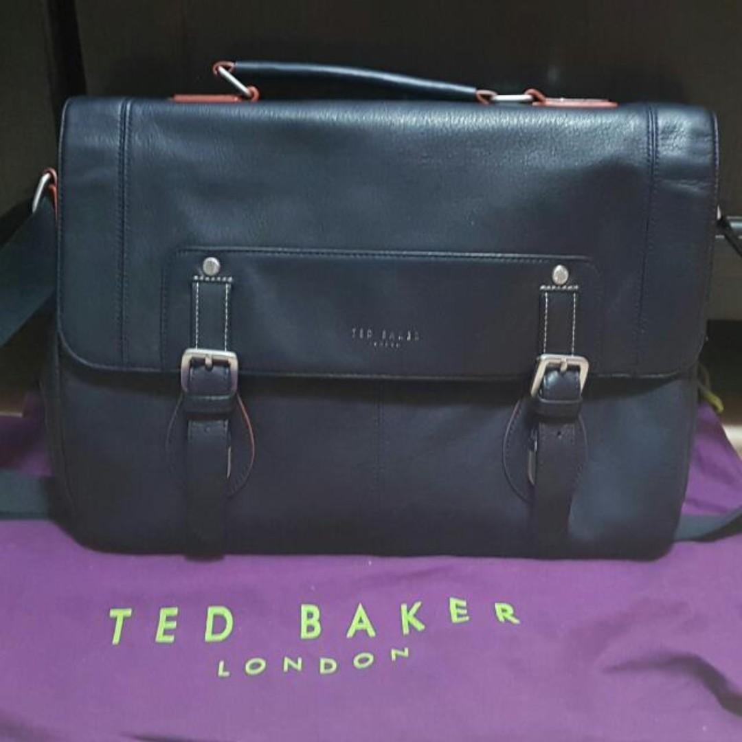 cfc62e5748c0 Garage Sales   TED BAKER Miamore Leather Satchel Bag Blue