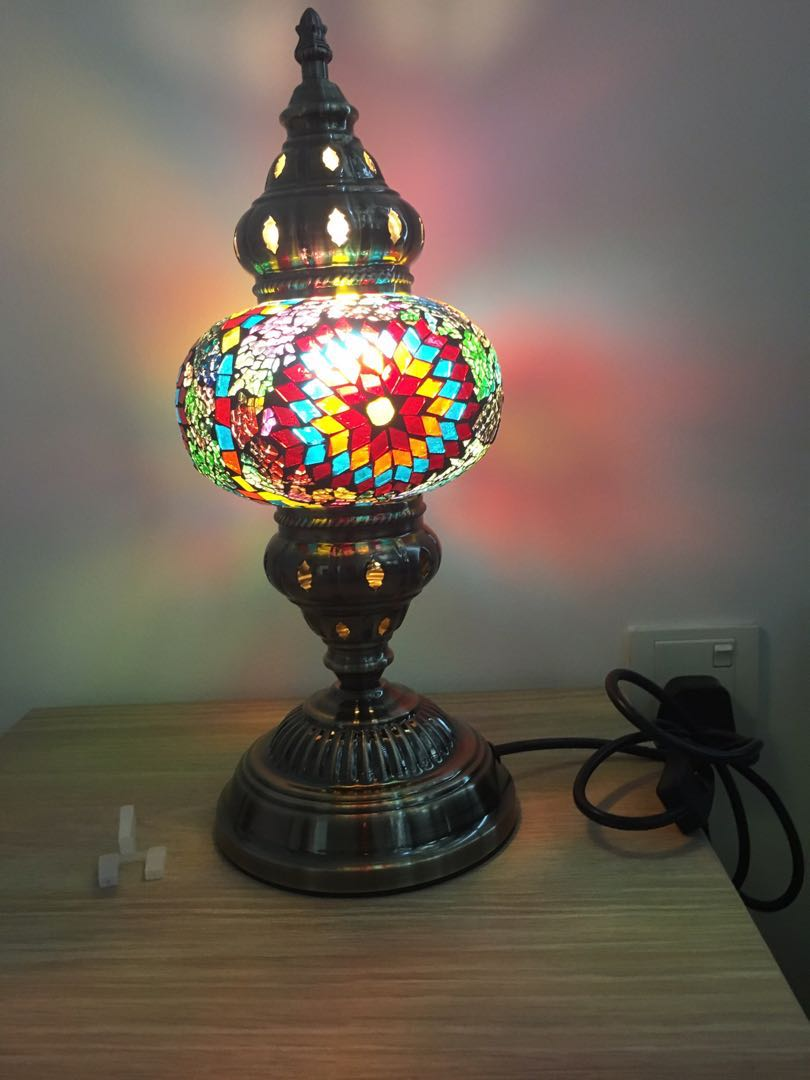 Turkish table lamp home furniture home decor on carousell photo photo photo photo photo mozeypictures Images