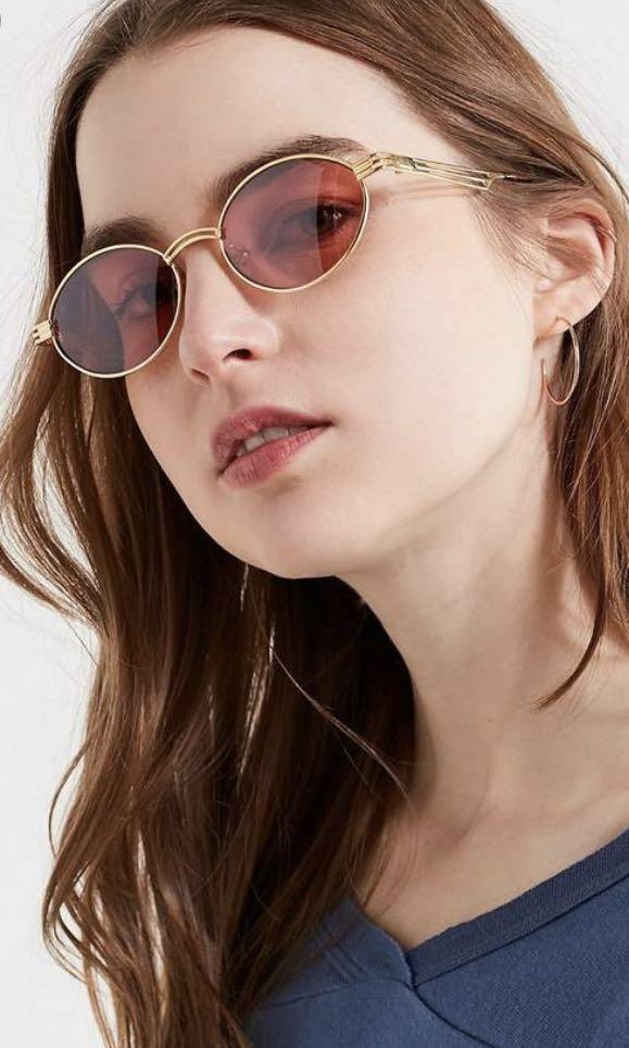 UO vintage detroit oval sunglasses