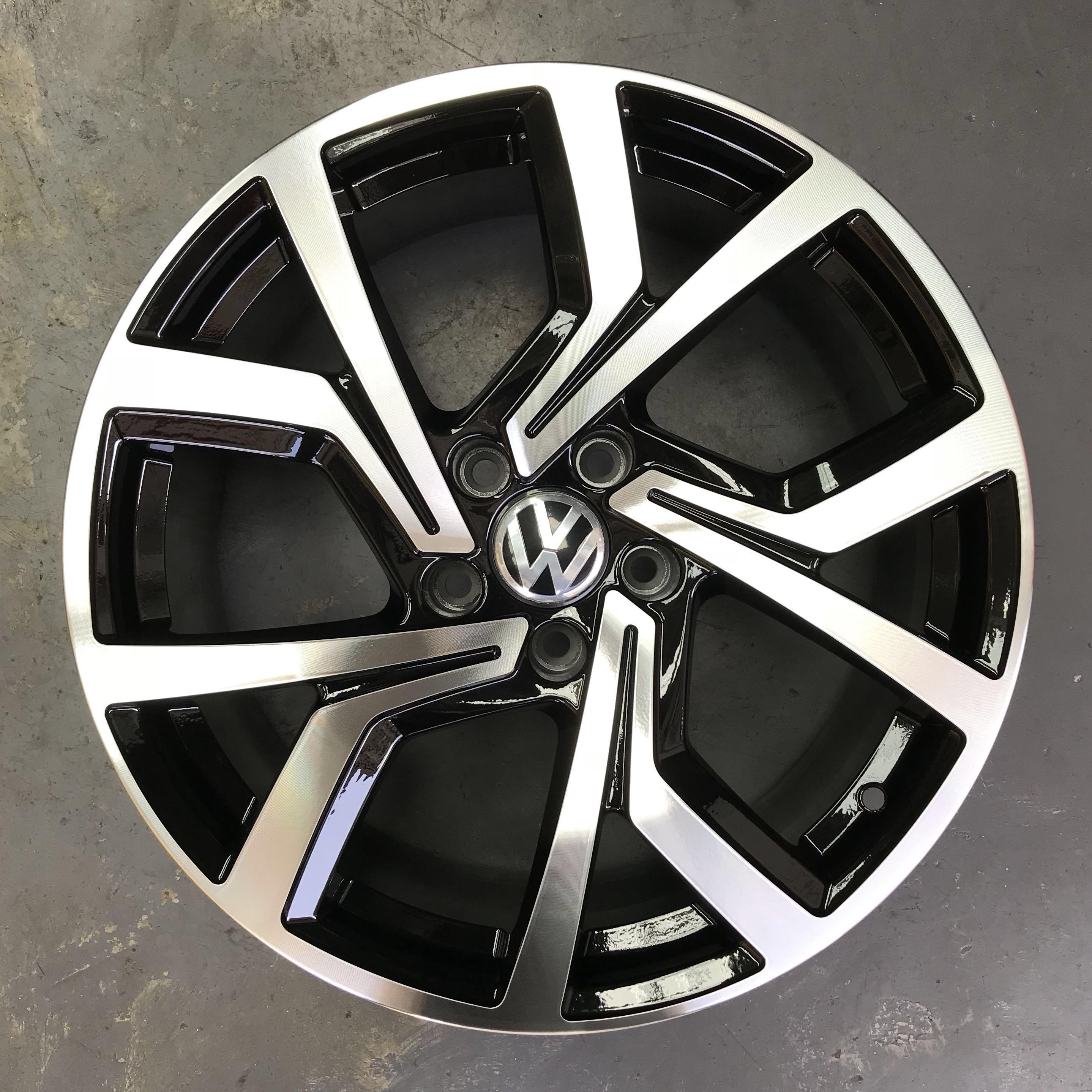 oem custom silver gti volkswagen rims jetta oe replica factory wheels