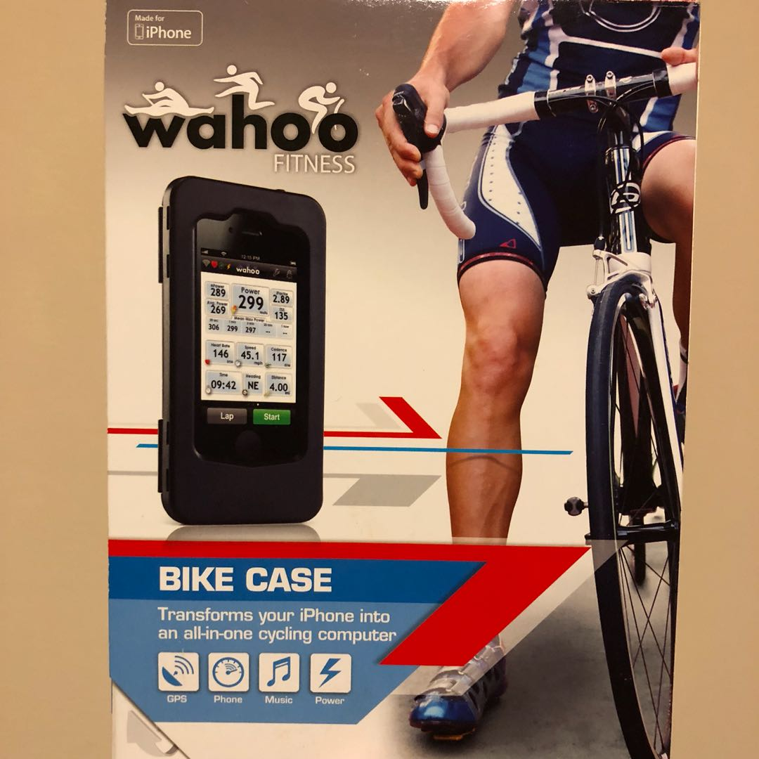 93e2e652dcd Wahoo iPhone 4 Bike Case, Bicycles & PMDs, Bicycles on Carousell