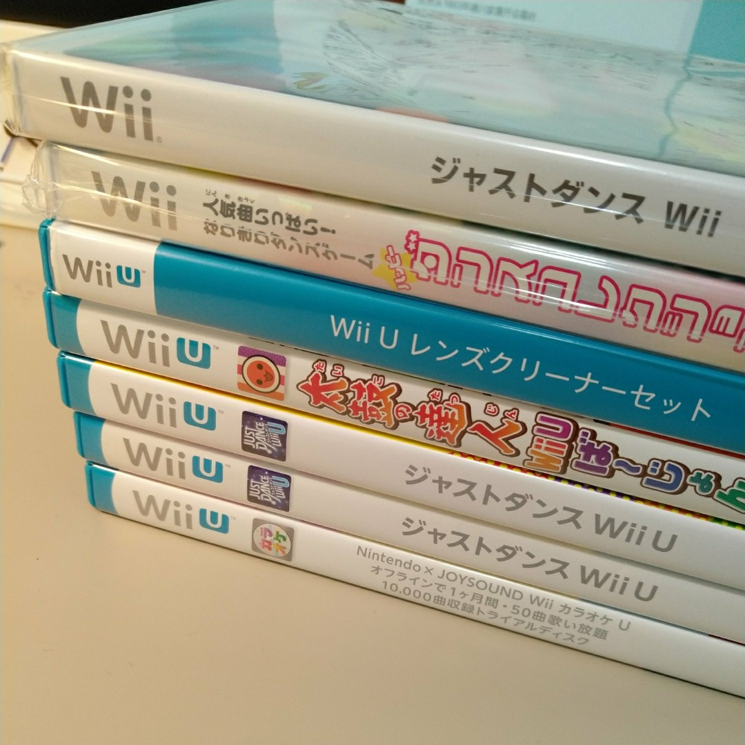 wiiu/wii Japanese Games, Toys & Games, Video Gaming, Video