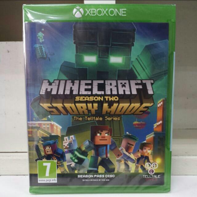 XBOX One Minecraft Story Mode Season 2 Season Pass Disc