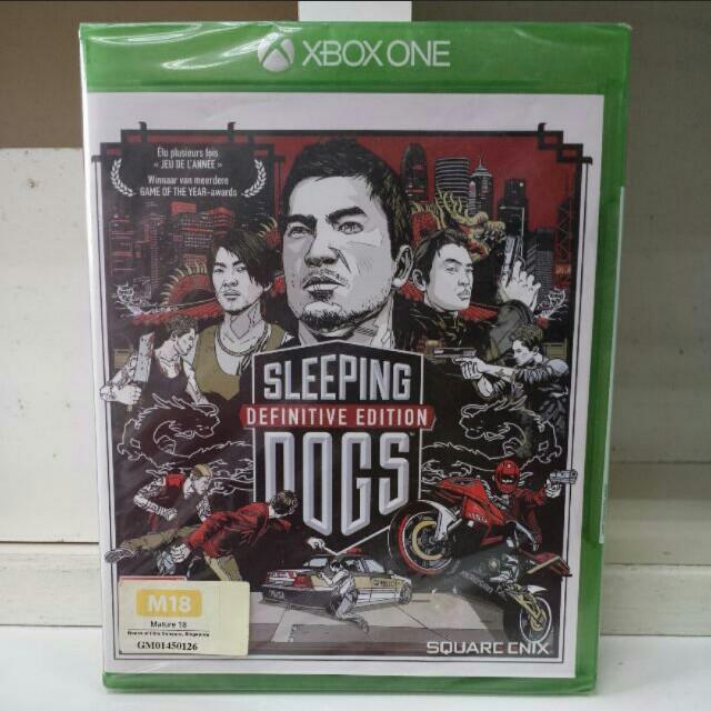 XBOX One Sleeping Dogs