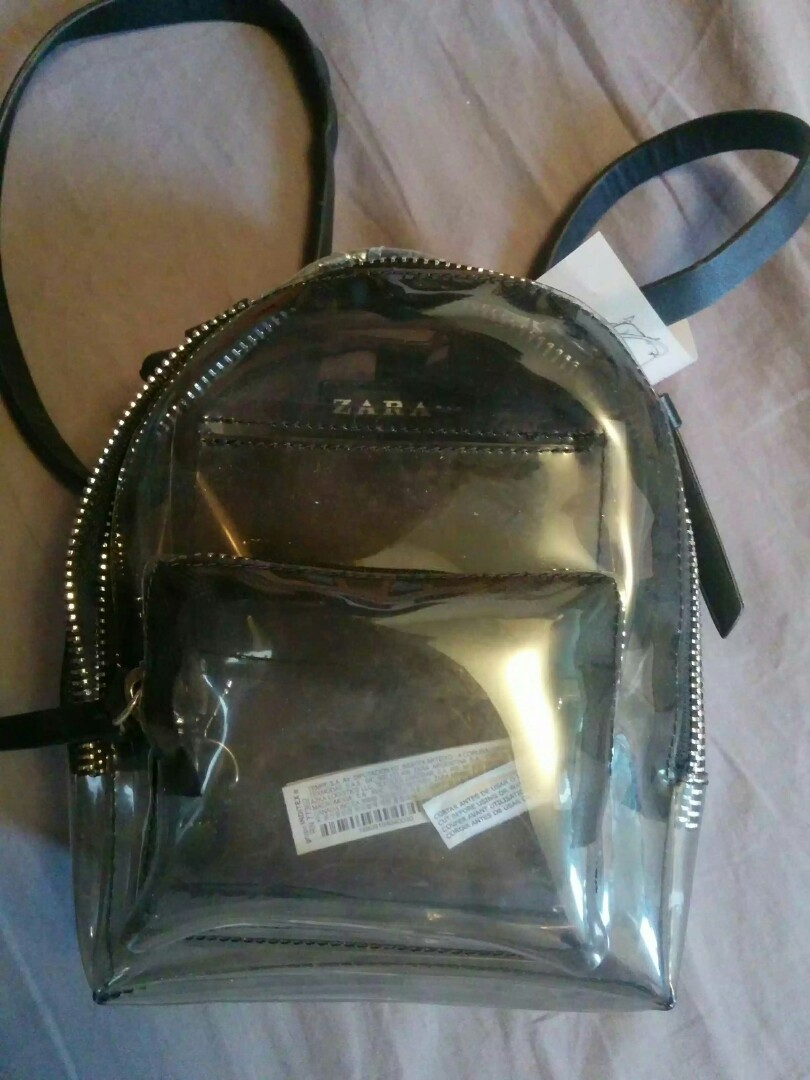 ZARA TRANSPARENT BAG