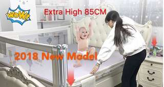 New design Extra High Bed Rail[120CM]