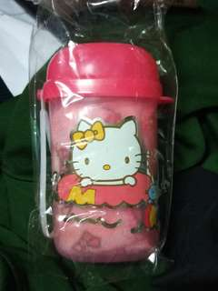Hello Kitty Bottle with Towel Set
