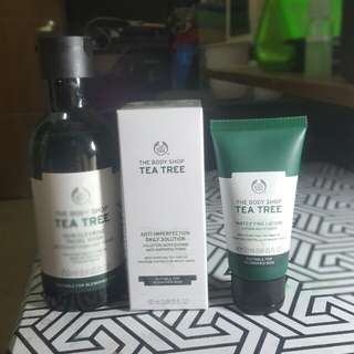 The body shop tea trea products
