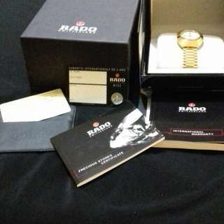RADO diastar watch complete