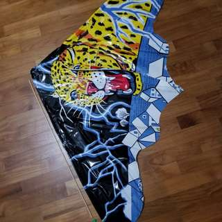Animal design Kite (Leopard). Size: 61cm x 128cm.