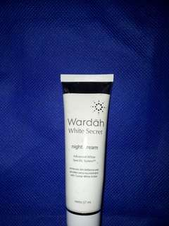Night Cream Wardah White Secret