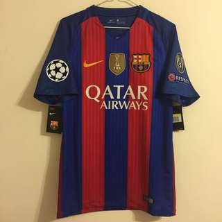 16/17 Barca UCL Home Jersey