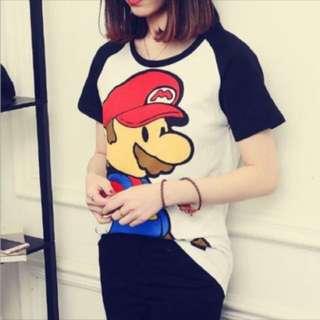 Korean Mario Shirt