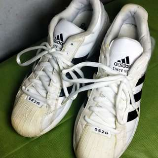 Adidas SS2G Basketball Shoes Black and White