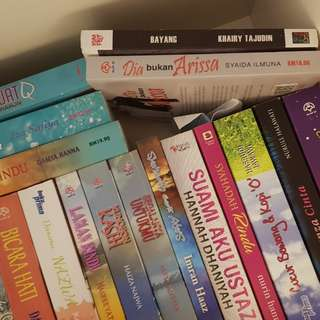 Pre-loved Malay Novels
