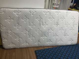 Single latex mattress