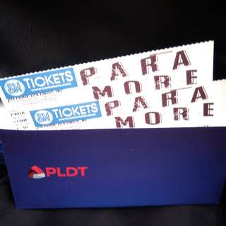 PARAMORE TICKET LOWER BOX B (2)