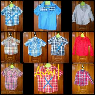Preloved and bnew clothes for boy
