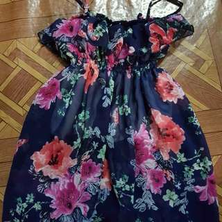 Floral dress for 2 to 7 years okd