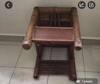 Antique Wooden Baby Chair