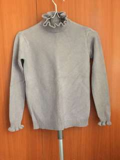 Baby blue/lavender sweater