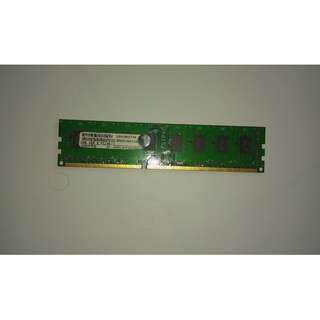 Visipro Memory RAM 4GB DDR3 PC10600 for PC